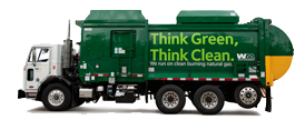 Waste Management Call Center at (800) 972-4545